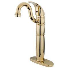 Kingston Brass Heritage Single Handle Vessel Sink Faucet Finish: