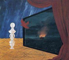 Nocturne (1925) Rene Magritte