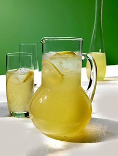 10 delicious non-alcoholic cocktail recipes - Telegraph Non Alcoholic Cocktails, Refreshing Cocktails, Cocktail Drinks, Cocktail Recipes, Kid Drinks, Fancy Drinks, Summer Drinks, Pitcher Drinks, How To Squeeze Lemons