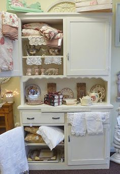 Kitchen cabinet or bathroom cabinet, or dining room cabinet, or summer porch cabinet...you get the idea.