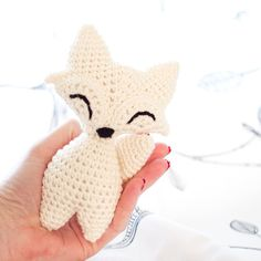 Little Fox or Wolf amigurumi crochet PDF pattern by FuglyCrochet