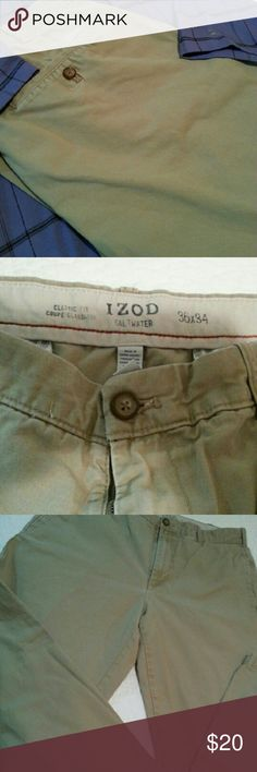 IZOD Salt Water Classic Fit Chino pants IZOD Salt Water Classic Fit Chino pants in Cedarwood Izod Pants Chinos & Khakis