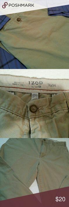 IZOD Salt Water Classic Fit Chino pants IZOD Salt Water Classic Fit Chino pants in Cedarwood Izod Pants Chinos & Khakis