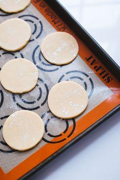 Bake sugar cookies that keep their shape.