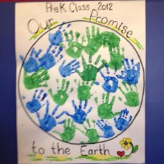 Classroom Earth day project