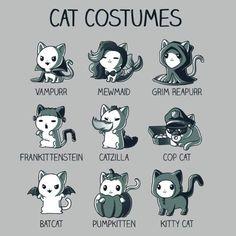 Cat Costumes | Funny, cute & nerdy shirts | TeeTurtle