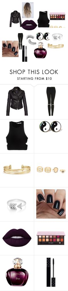 """""""Sem título #106"""" by brunagzilli on Polyvore featuring moda, Barbour International, Topshop, T By Alexander Wang, Stella & Dot, LULUS, EF Collection, Lime Crime, Anastasia Beverly Hills e Gucci"""