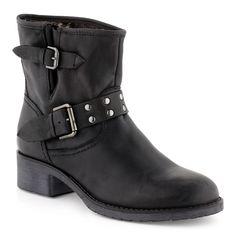 Boots/Bottines Cuir noir pour Femme : Boots/Bottines Cable - 50,39€