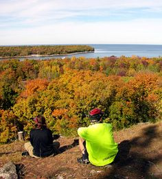 Wisconsin: Peninsula State Park - another of my very favorite Midwest travel spots.