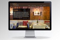 Site internet du restaurant La Table des Saveurs à Font-Romeu: www.tabledessaveurs.fr  Par l'agence double-id, www.double-id.com