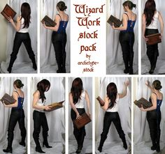 Wizard Work Stock Pack by archetype-stock on @DeviantArt