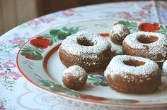 Nutmeg-scented Doughnuts