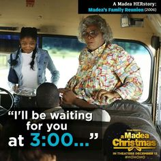Another visit from the Ghost of Madea Past. She'll be waiting. Madea Quotes, Tv Quotes, Movie Quotes, Qoutes, Madea Movies, Funny Movies, Good Movies, Tyler Perry Movies, Lisa