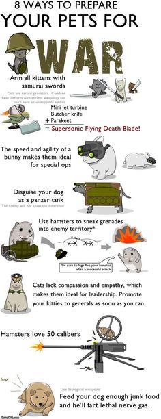 War pets