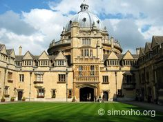 Radcliffe Reading Rooms, University of Oxford, Oxford, England.