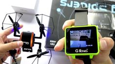 nice GTeng T909 5.8G FPV Watch Wearable Receiver for Real-time Transmission 2.6 inch LCD Screen