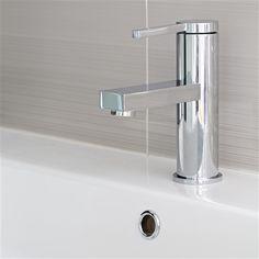 Dina Basin Mixer Tap - Sale Item - £99 - http://www.bathroomheaven.com/taps/dina-basin-mixer-tap-excludes-waste-25649.aspx