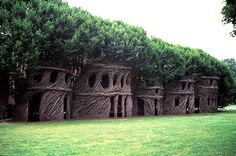 Patrick Dougherty  twigs and branches of saplings