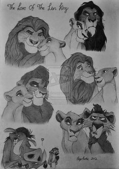 the love of the lion king by kittycat02