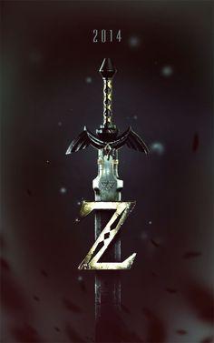it8bit:  Zelda Poster Created byZach Bush  #Nintendo #Zelda