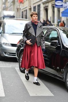 Неделя Haute Couture  в Париже:  Street Style  (часть3)