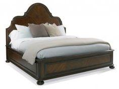Hickory White - 145-22 Francesca Panel King Bed