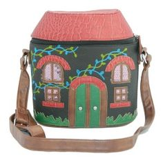 adorable designer inspired bag in the shape of a house only £46.99.... bargain!