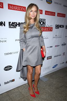 blog by Joanna Przetakiewicz | Yesterday, the annual Fashion Magazine Gala took... Business Fashion, Celebrity Style, Shirt Dress, Celebrities, Hair, Shirts, Clothes, Beauty, Black