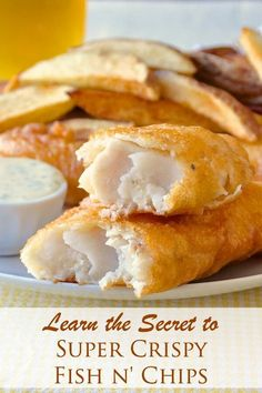 Super Crispy Fish and Chips