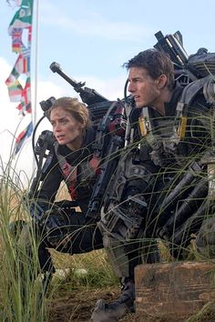 "Emily Blunt/Tom Cruise - ""Edge Of Tomorrow"" (2014)"