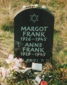 The Frank sisters, their suffering over after the horrific Holocaust.