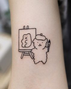 Bild Tattoos, Body Art Tattoos, Tattoo Drawings, Male Tattoo, Tatoos, Indie Tattoo, Grunge Tattoo, Tatouage Indie, Tattoos For Women On Thigh