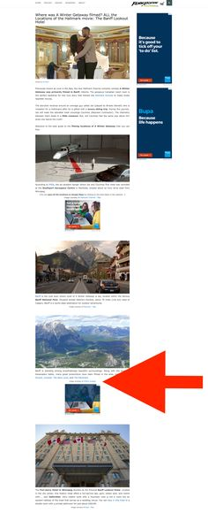 Atlas of Wonders - Where was A Winter Getaway filmed? ALL the Locations of the Hallmark movie: The Banff Lookout Hotel Getaway Film, Red Arrow, Life Happens, Banff, Winter, Movie Posters, Winter Time, Film Poster, Billboard