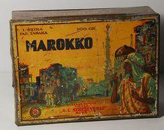 """""""MAROKKO"""" tobacco tin."""
