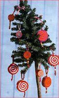 L' Albero di Natale: Pendenti in feltro