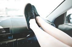 Vans Authentic Lo Pro Black and Gum sole