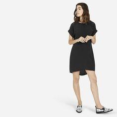 The Silk Short-Sleeve Dress - Everlane