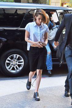 #OOTD Así se lleva el estilo tomboy, por Kristen Stewart