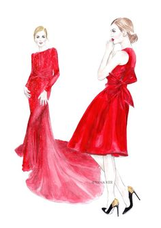 She's talented, she loves fashion and she adores to draw, all of which you can easily tell by looking at any of her wonderful illustrations. Lena Ker (lenaker.blogspot.com), the young fashion illus...