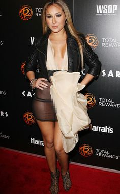 Adrienne Bailon does not have her undies