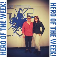 "HERO Of the Week. . April 6-9  :)  Like: "" Ashley Bergeron"" on Facebook!"