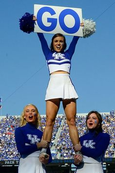 1000+ images about Kentucky Wildcats Cheerleaders on ...