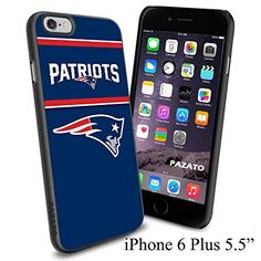 """NFL NEW ENGLAND PATRIOTS , Cool iPhone 6 Plus (6+ , 5.5"""") Smartphone Case Cover Collector iphone TPU Rubber Case Black [By NasaCover] NasaCover http://www.amazon.com/dp/B012BCMR4G/ref=cm_sw_r_pi_dp_DXoXvb13KGWRB"""