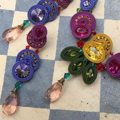 Folies by Dori Csengeri. #DoriCsengeri #colors #Jewelry #Accessories #colors #summer #fun #style #statement