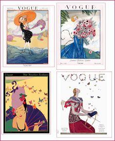 jamaica byles: Vintage Vogue magazine covers