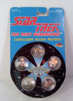Vintage Star Trek Next Generation Collectible by SweetgyrlDesigns, $6.00
