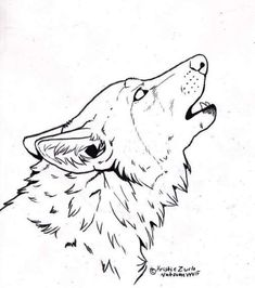 FREE to COLOR ONLY howling wolf line art for you guys. *** If you trace and or flat out use this image in any form of profit you will be taken to c. Free to COLOR ONLY howling wolf Line Art Wolf Howling Drawing, Coyote Drawing, Howling Wolf Tattoo, Wolf Face Drawing, Totem Pole Drawing, Line Drawing, Drawing Sketches, Animal Drawings, Cool Drawings