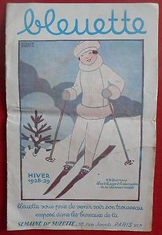 CATALOGUE-POUPEE-BLEUETTE-HIVER-1928-29-DESSINS-MAGGIE-SALCEDO-BECASSINE