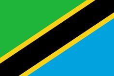 Flag of Tanzania - Galeria de bandeiras nacionais – Wikipédia, a enciclopédia livre