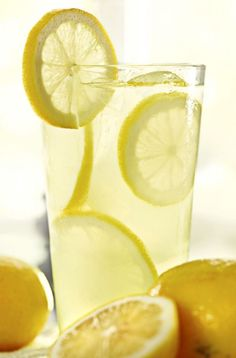 Homemade Lemonade.  2 cups water, 1/2 cup sugar, 1/4 teaspoon salt + 2 tablespoons lemon juice.  In small saucepan combine water, sugar, and salt. Bring mixture to a boil, and boil for 2 minutes. Allow simple syrup to cool to room temperature. Combine simple syrup with lemon juice and mix well. Pour over ice. Yields 2 servings.